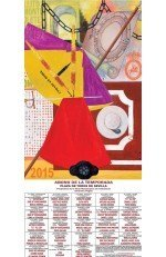 Year 2015 Bullfighting Poster. Juan Fernández Lacomba
