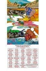 Year 2017 Bullfighting Poster. Carlos Franco