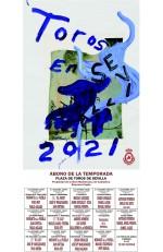 Año 2021 Cartel Taurino. Julian Schnabel
